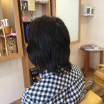 骨格絶壁ハチ張りハネる悩みにすきハサミを使わないキュビズムカットの神戸東灘区の美容室アバディ