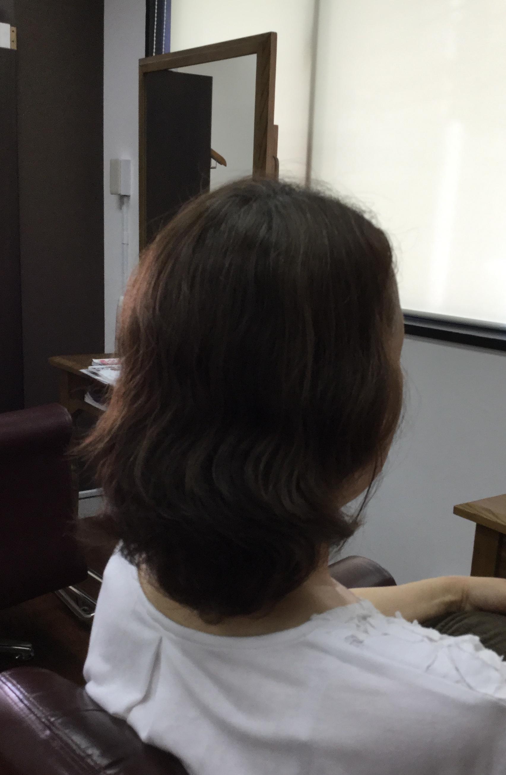 縮毛矯正をやめくせ毛の大人ボブの得意なくせ毛専門美容室アバディ