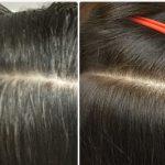 くせ毛乾燥毛にすきハサミを使わないキュビズムカットと明るい白髪染めの神戸の美容室