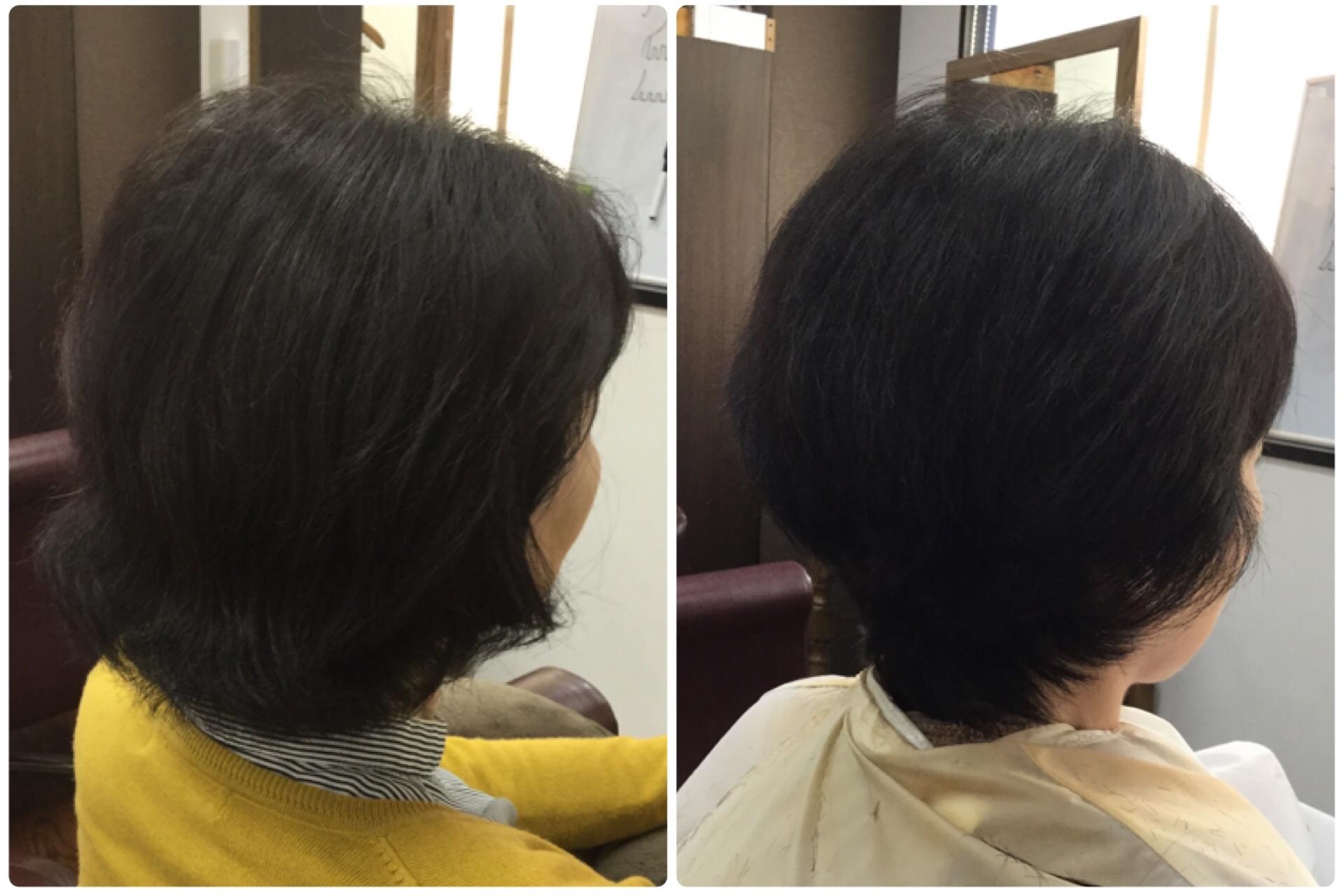 50代でくせ毛の悩みに縮毛矯正をしたら老けて見えるでしょ