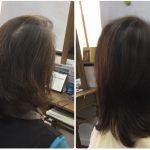 I50代白髪薄毛加齢毛【ソギハサミを使わないカット】で華麗毛へ神戸東灘区岡本くせ毛専門美容室アバディ