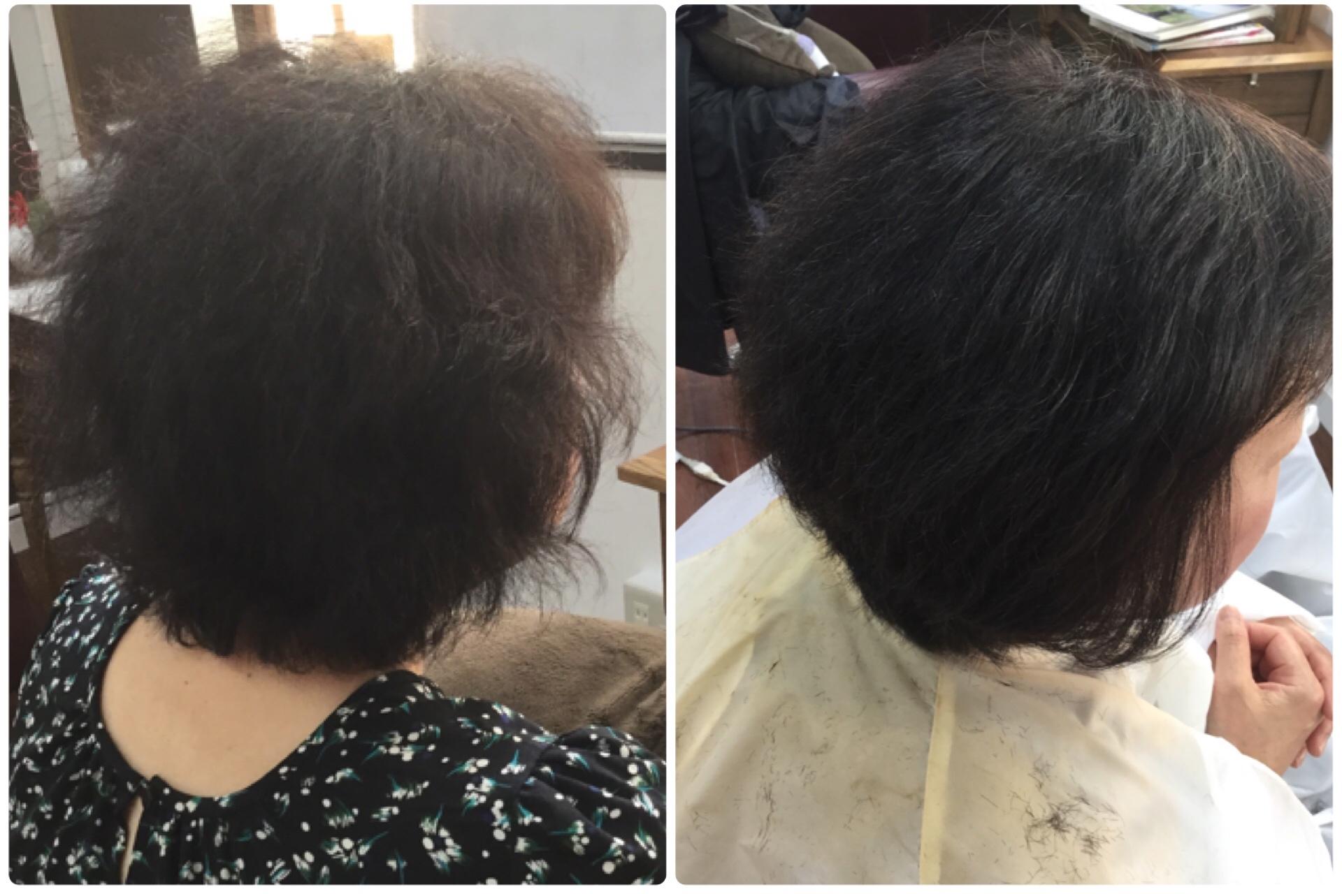 くせ毛の髪質改善に天然100%ヘナとすきハサミを使わないカットの神戸くせ毛専門美容室