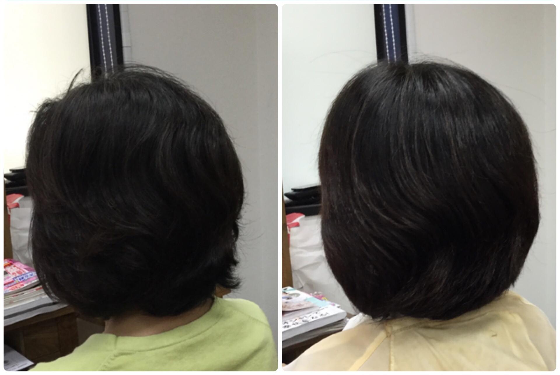 【頭皮がたるむ】と顔もたるむ、酸化=老化だから天然100%熟成ヘナ神戸くせ毛専門美容室アバディ