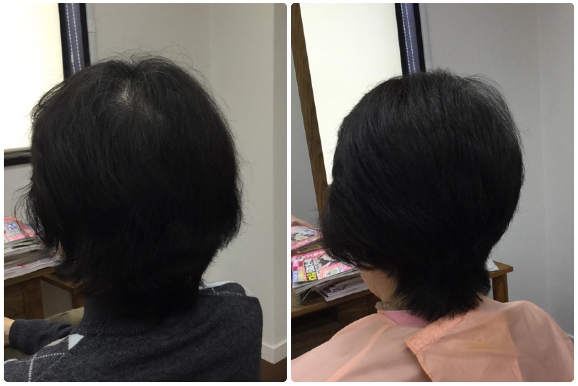 年齢を感じる髪に天然100%熟成ヘナとキュビズムカットの神戸くせ毛専門美容室アバディ