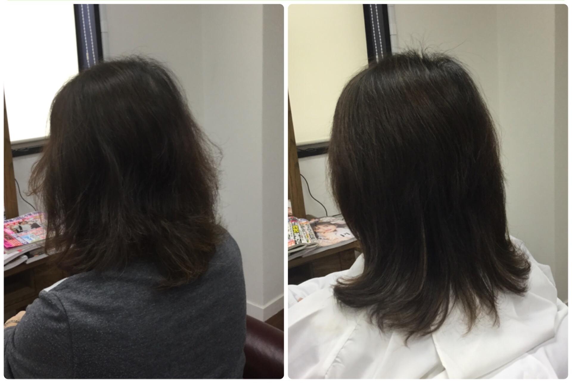 細毛薄毛つむじの割れに天然100%ヘナとキュビズムカットの神戸くせ毛専門美容室