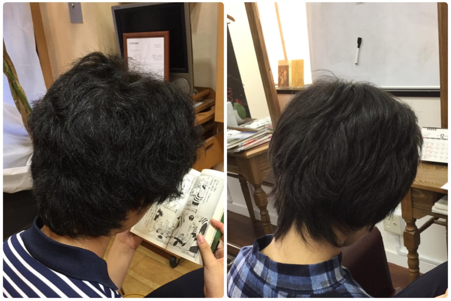 くせ毛のショートカットに縮毛矯正しかない!神戸くせ毛専門美容室アバディ