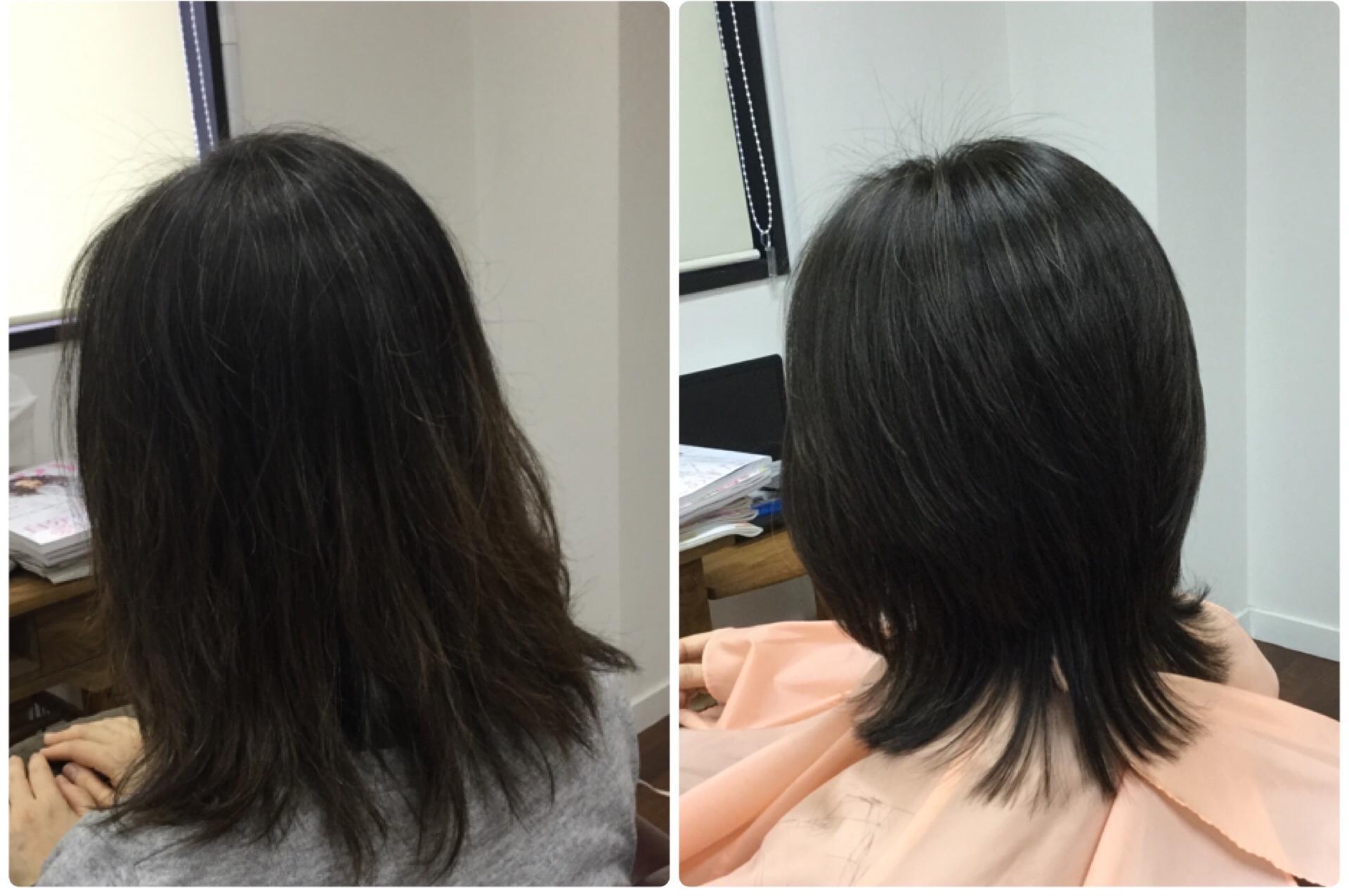 ヘアカラー=酸化染毛剤(老化)薄毛・細毛の原因ですよ神戸くせ毛専門美容室アバディ