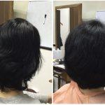 脱縮毛矯正でも再現性が高い高いヘアスタイルに髪を梳かないカット神戸くせ毛専門美容室アバディ