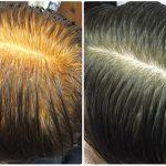 ケミカルヘナと違い天然100%ヘナは真っ黒に染まるでしょ?神戸くせ毛専門美容室アバディ