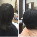 Iくせ毛多毛広がる髪質にすきハサミを必要とするカットでは限界がある!神戸くせ毛専門美容室アバディ