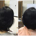 東灘区岡本【広がらないボブ】縮毛矯正をやめれるカットが上手な神戸くせ毛専門美容室アバディ