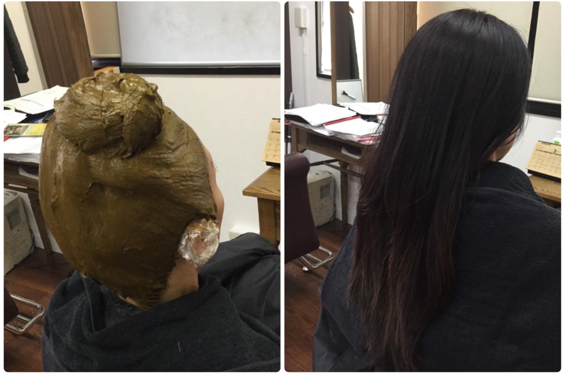 神戸中央区三宮【天然100%熟成HQヘナ専門】大人女性の為のくせ毛専門美容室アバディ