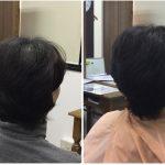 I50代くせ毛つむじの割れ加齢毛に【セニングで梳かないカット】神戸くせ毛専門美容室アバディ