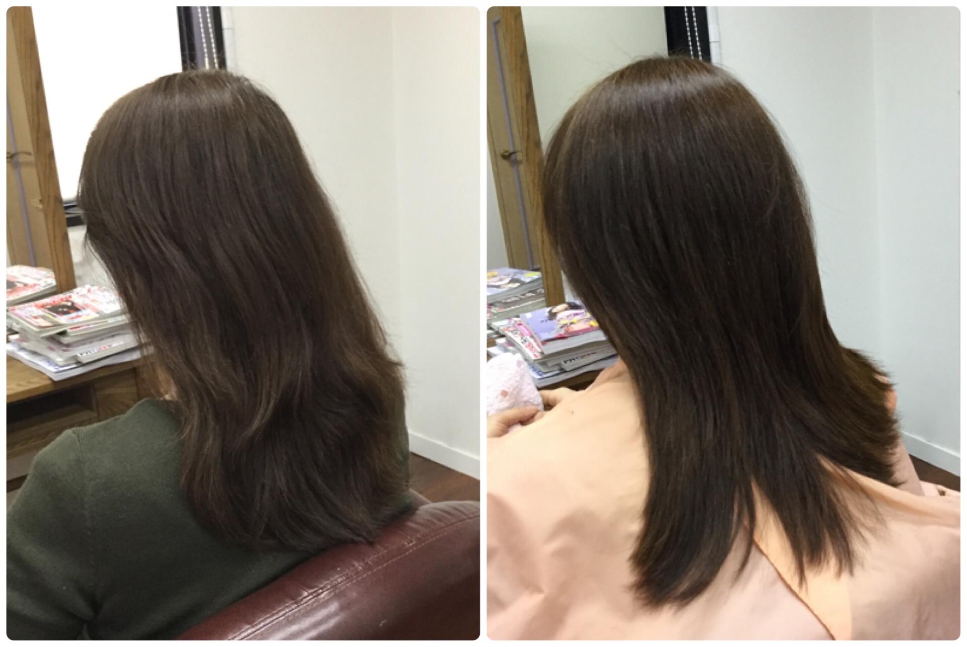 """I40代老けるヘアカラーは""""たるみ""""""""白髪を増やす""""原因!神戸くせ毛専門美容室アバディ"""