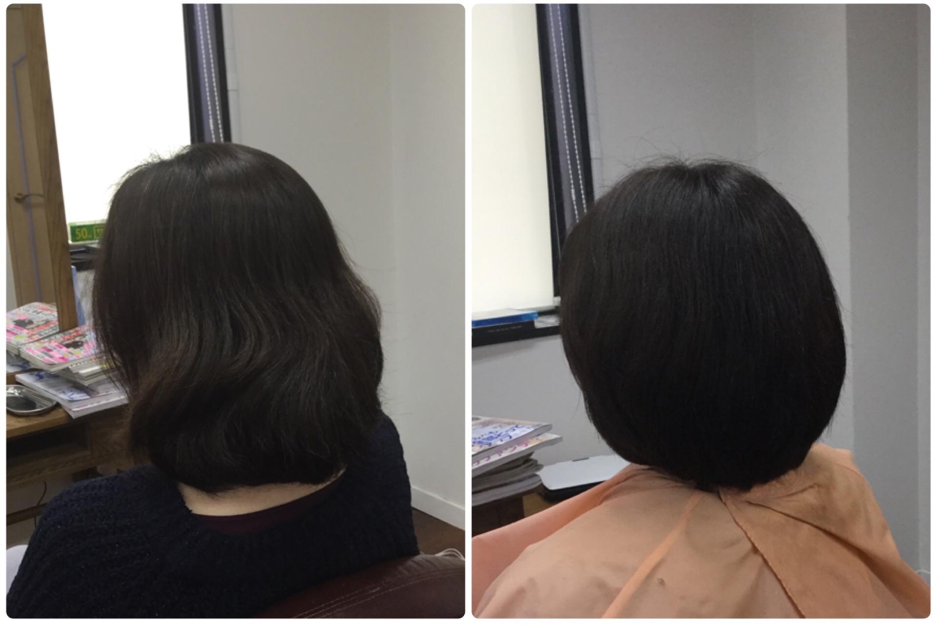 Iすきハサミで梳かれすぎ【おさまり・広がり・まとまり】の悩みに神戸岡本くせ毛専門美容室アバディ