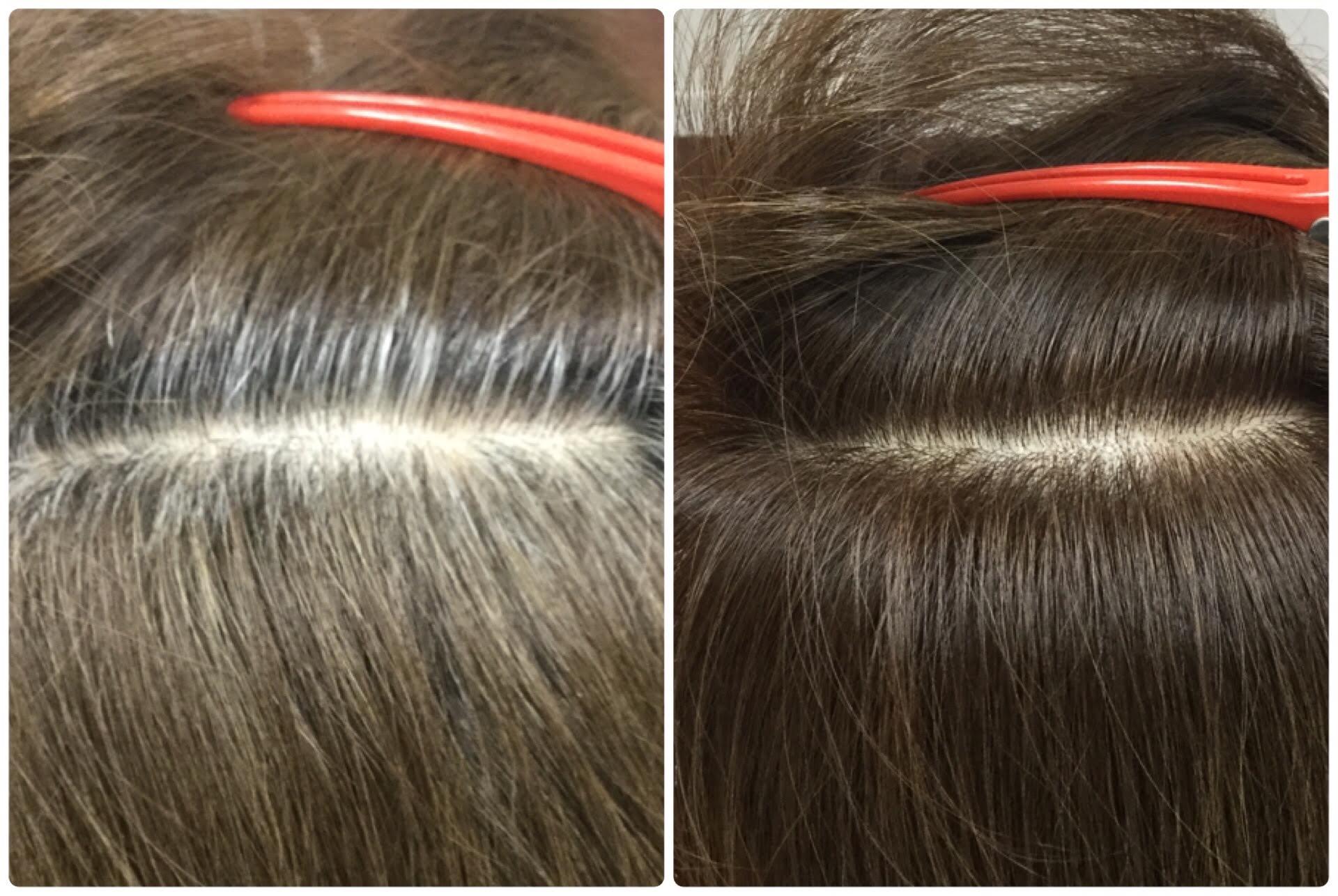 I大人女性の為のグレイカラー【明るい白髪染め】神戸灘区六甲道からもくせ毛専門美容室アバディ