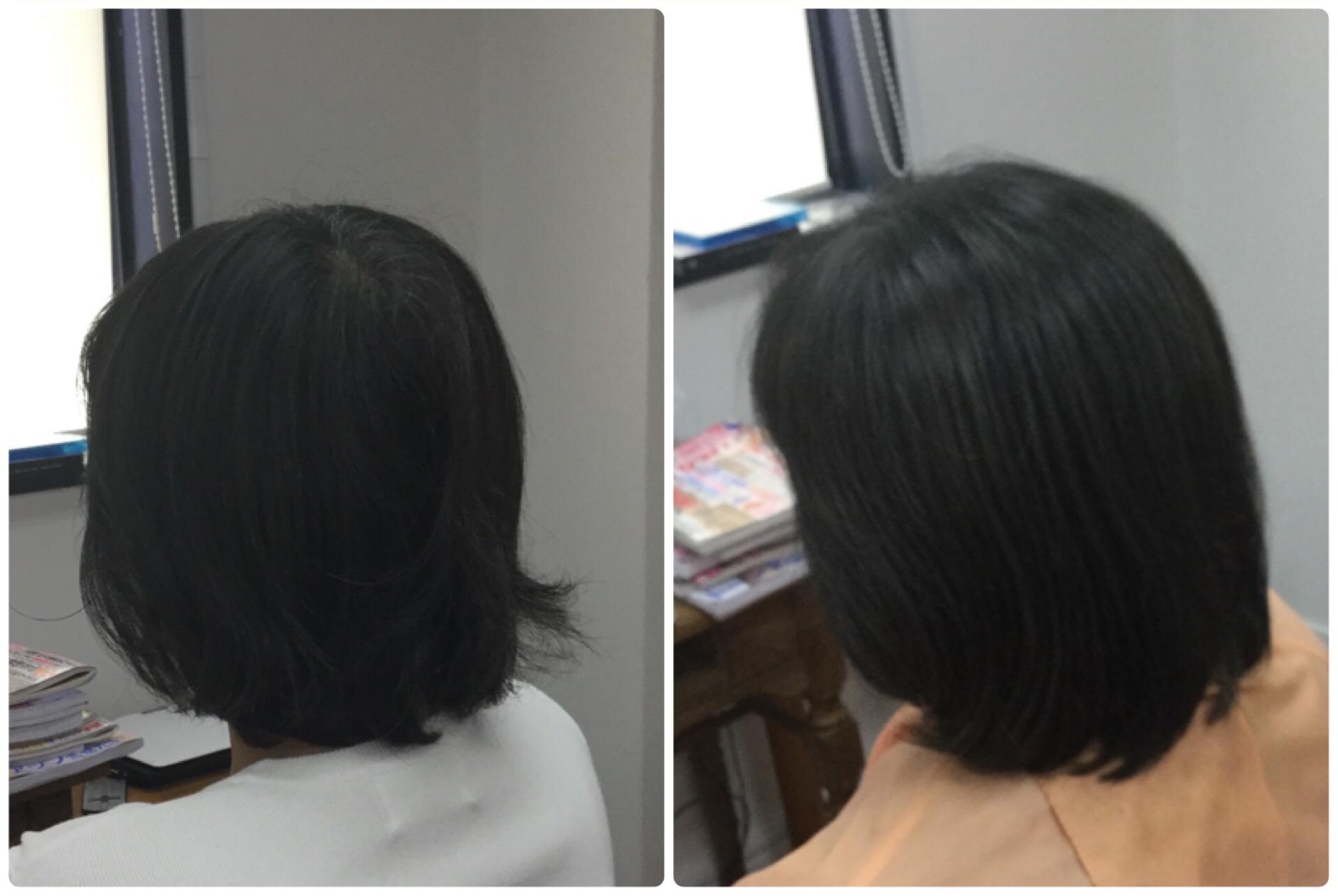 I40代から白髪染め加齢毛の悩みに【天然100%熟成HQヘナ】で華麗毛に!神戸くせ毛専門美容室アバディ