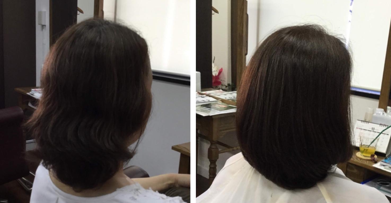 I50代くせ毛細毛加齢毛に【縮毛矯正やめたい】ハサミで華麗毛に神戸くせ毛専門美容室アバディ