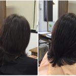 I50代加齢毛に天然100%ヘナ【すきハサミを使わないカット】華麗毛へ神戸くせ毛専門美容室アバディ