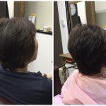 50代くせ毛絶壁ツムジ割れを【骨格補正立体3Dカット】で修正する神戸くせ毛専門美容室アバディ