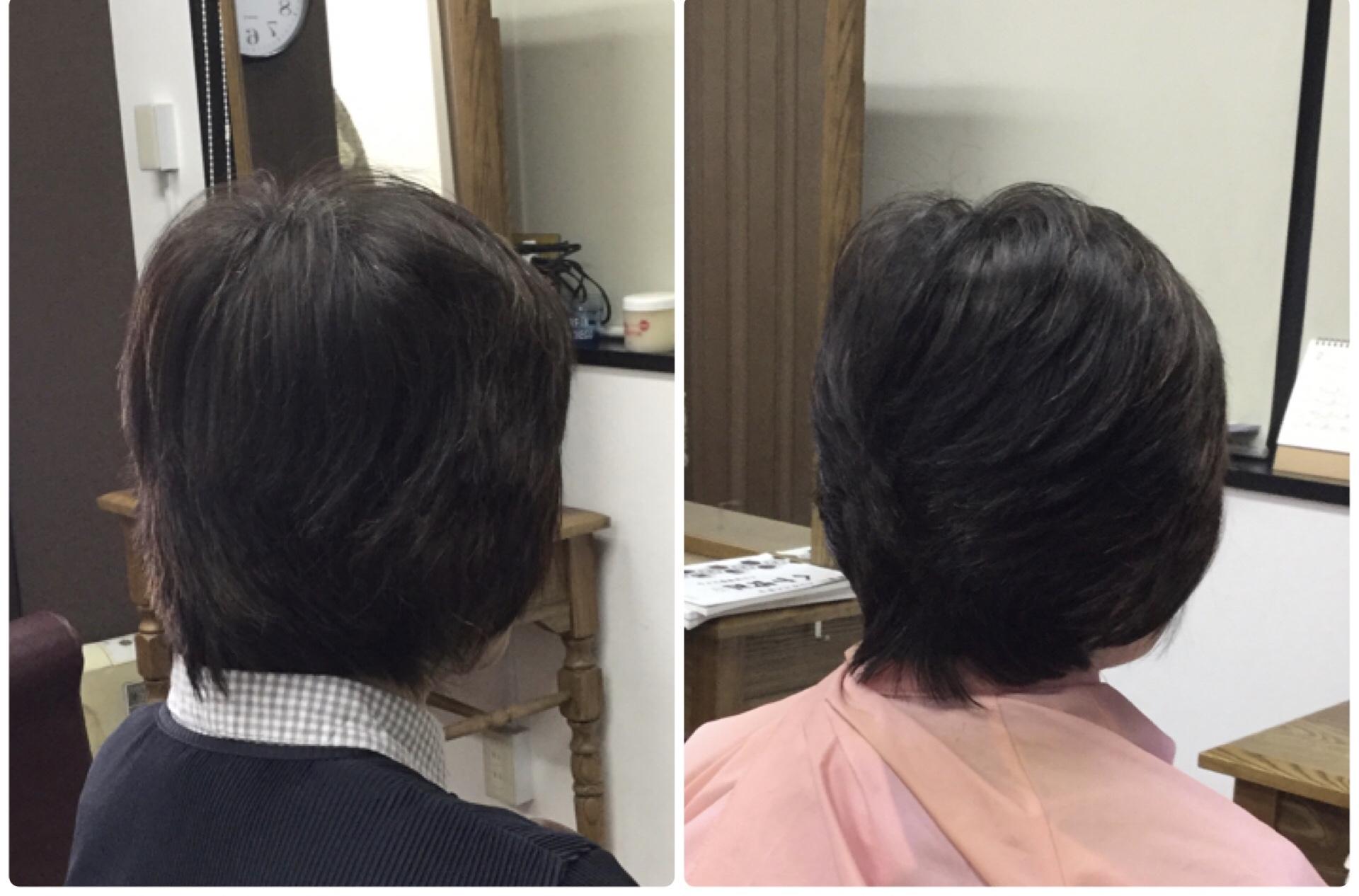 40代からは【くせ毛のスタイルは簡単が良い】スキハサミを使わないカット!神戸くせ毛専門美容室アバディ