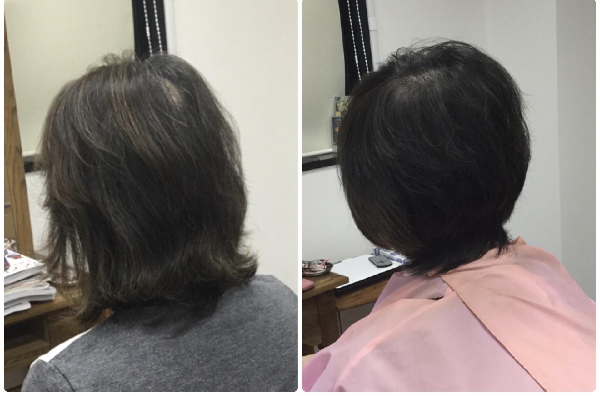 加齢毛を華麗毛にする骨格補正くせ毛カットと純国産天然100%沖縄RQ琉球ヘナ