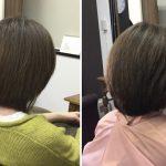 直毛・固い・多い髪質【なんで今まで縮毛矯正で抑えてたんやろ?】丸みを出すカット