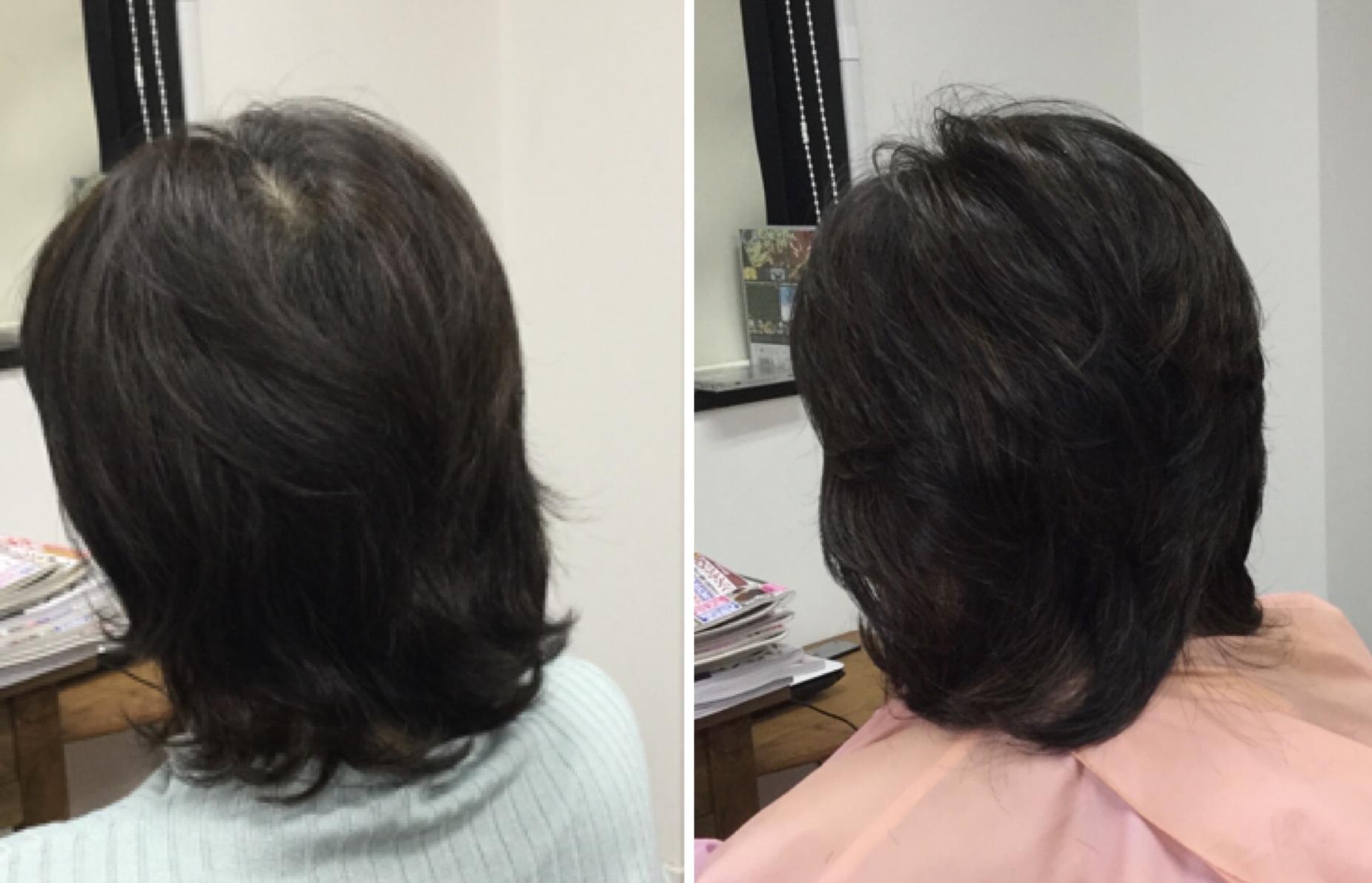 50代ツムジの割れをカバーする【くせ毛対応カット】の美容室アバディ