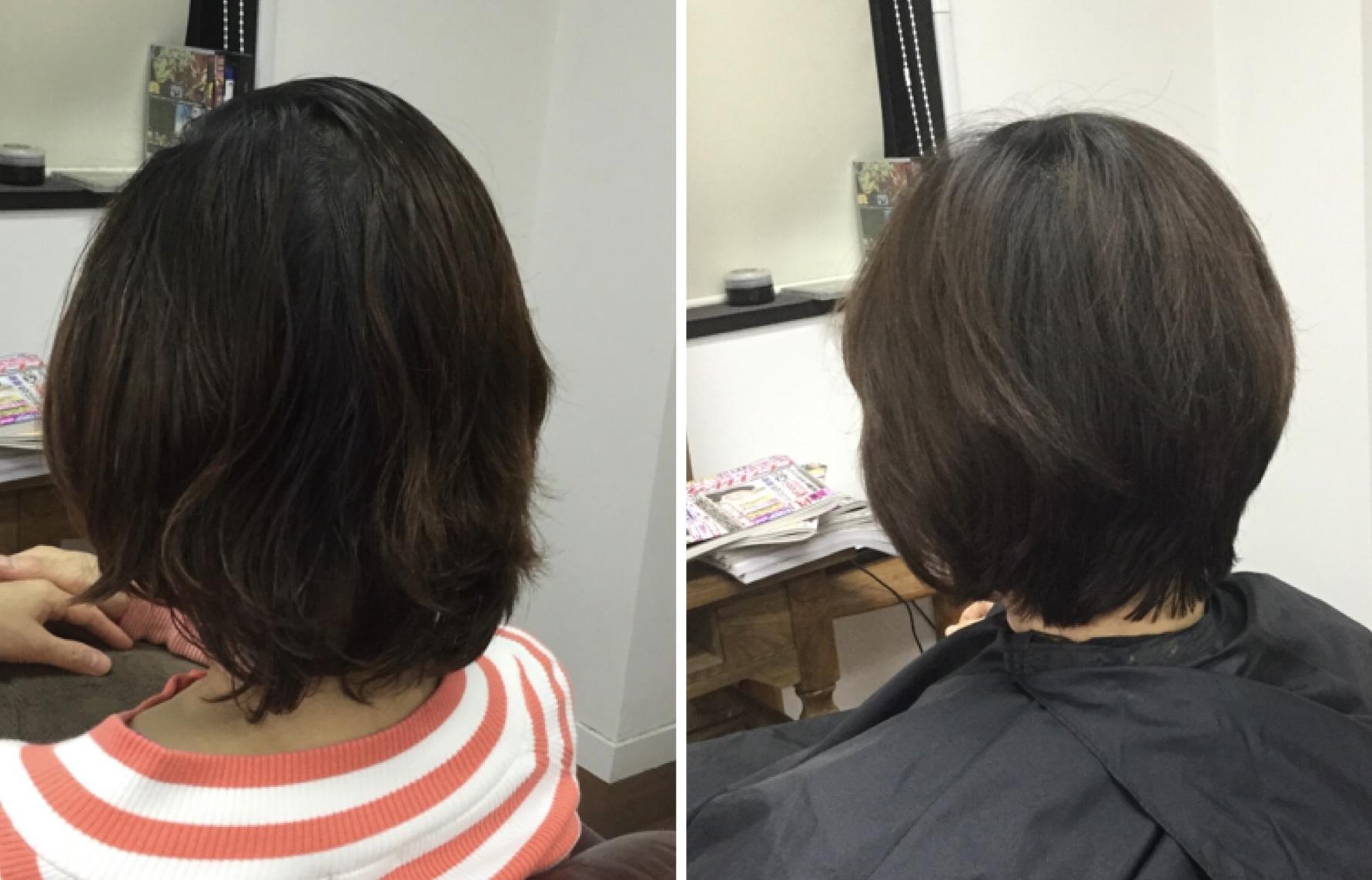 くせ毛の悩みに【貴女はいつまで縮毛矯正を続けますか?】キュビズムカット ®︎で卒業っ!
