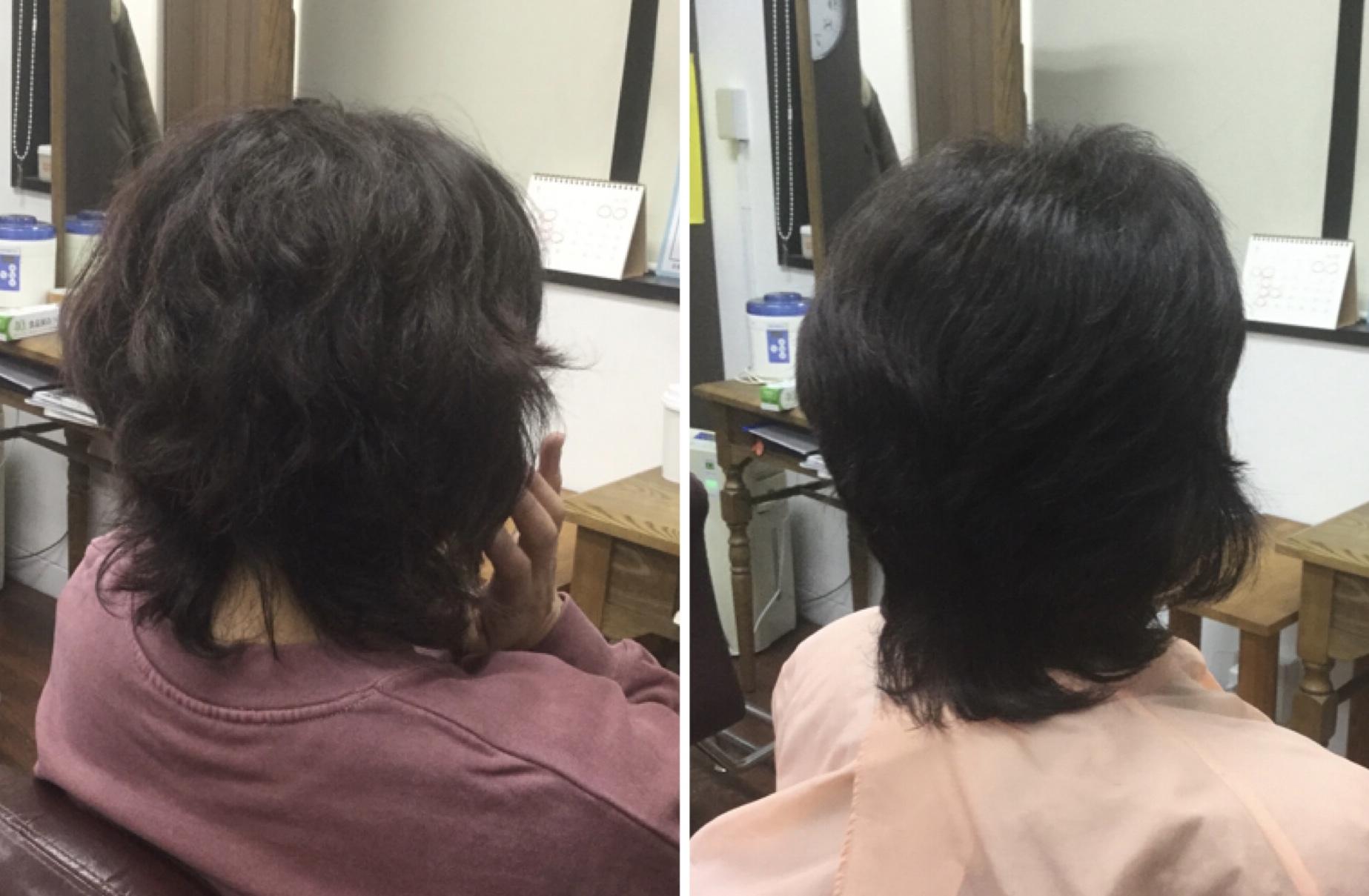50代いつまで縮毛矯正をします?キュビズムカット®︎と国産100%美らヘナ®︎で卒業神戸美容室アバディ