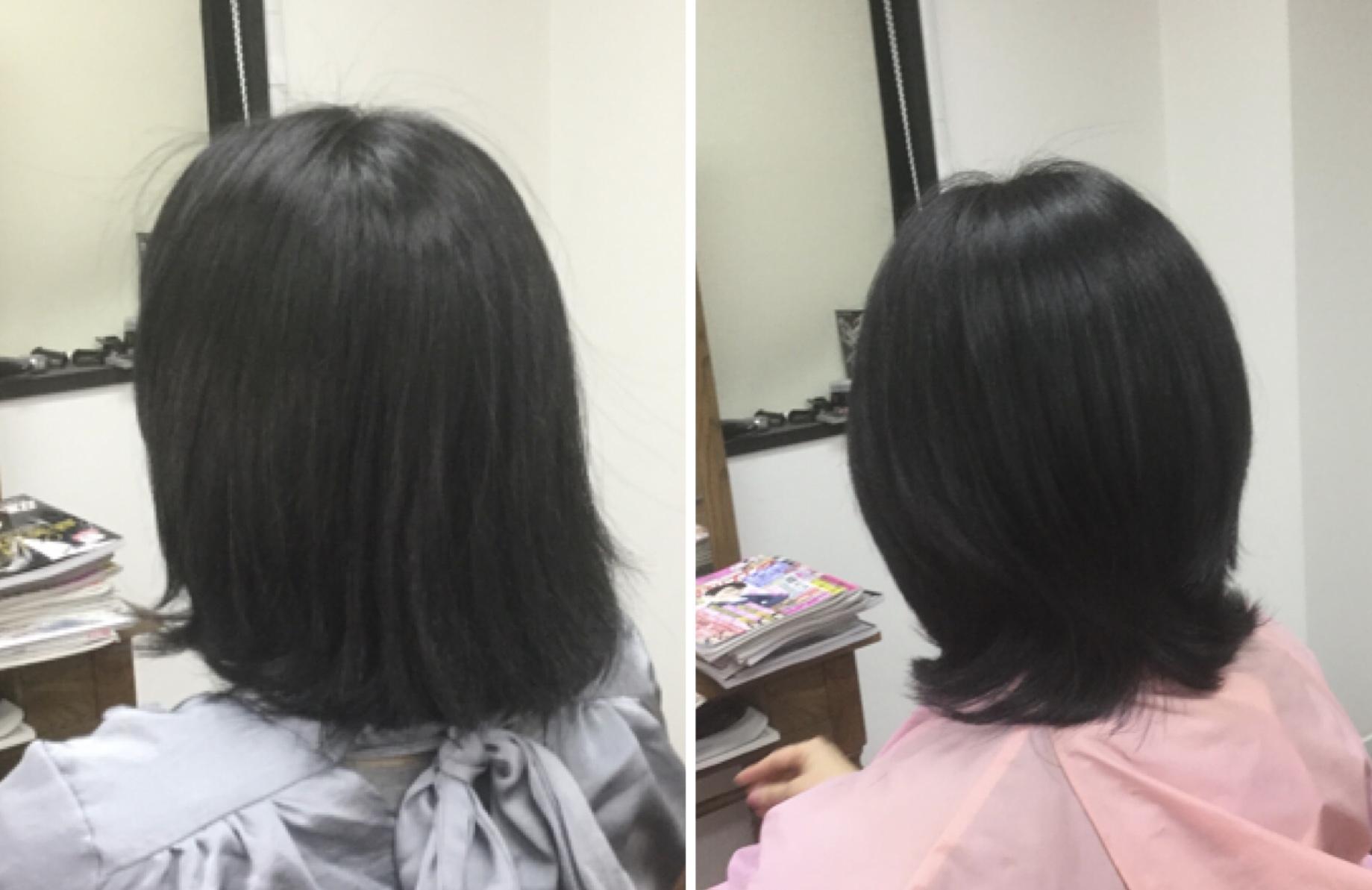 太い多毛ならスキハサミで梳きますか?梳かないですか?キュビズムカット®︎の神戸美容室アバディ