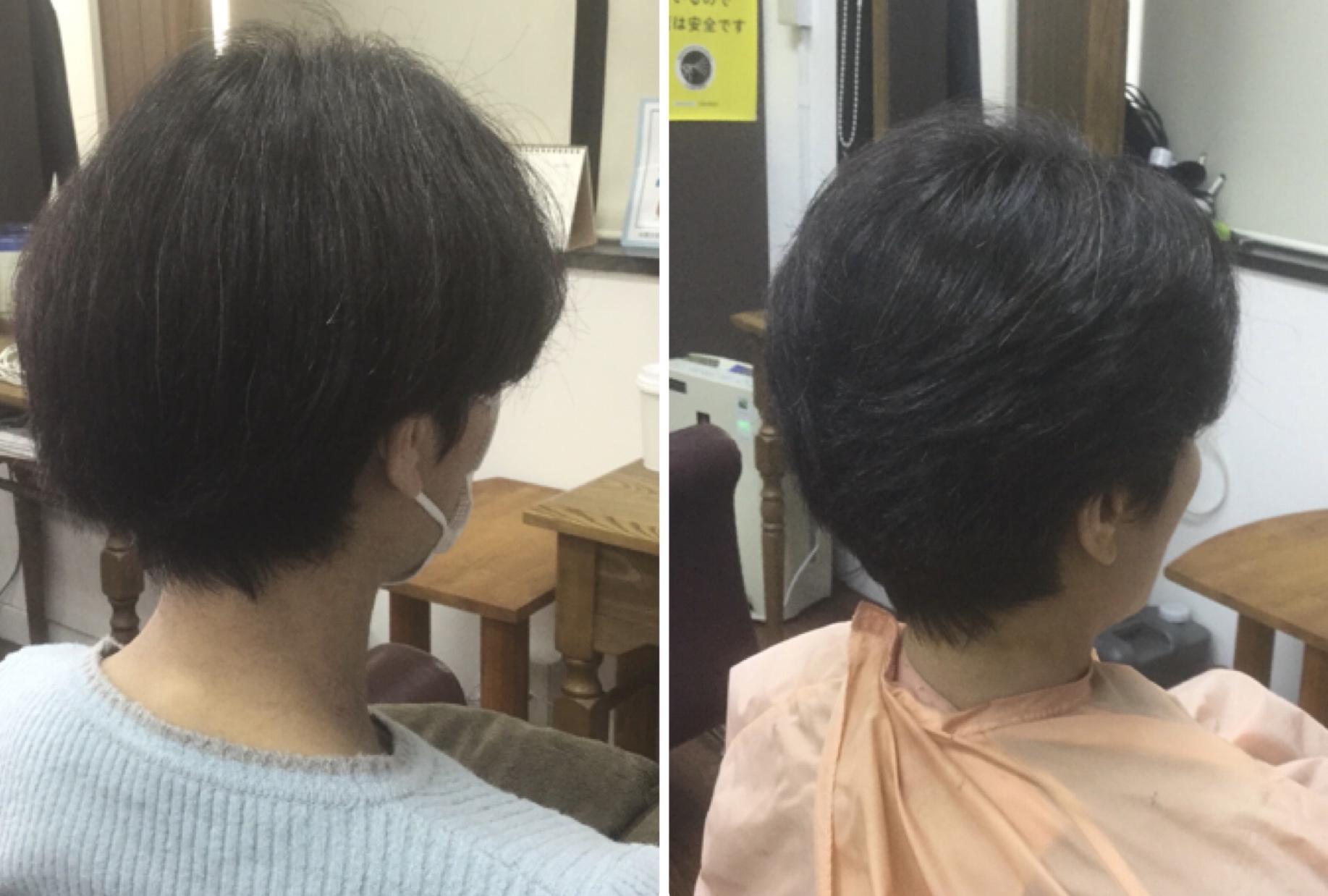 くせ毛多毛に梳かないキュビズムカット®︎が最適っ!神戸摂津本山美容室アバディ