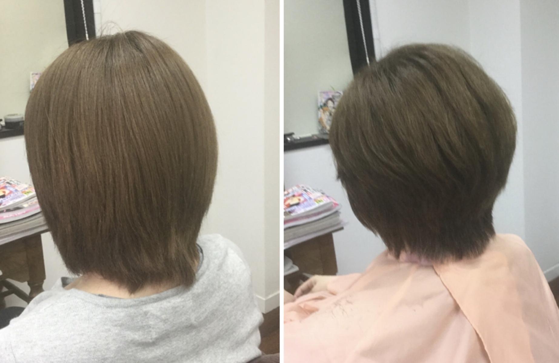 硬くて多く乾きにくいならキュビズムカットで時短なヘアスタイルに神戸摂津本山美容室アバディ