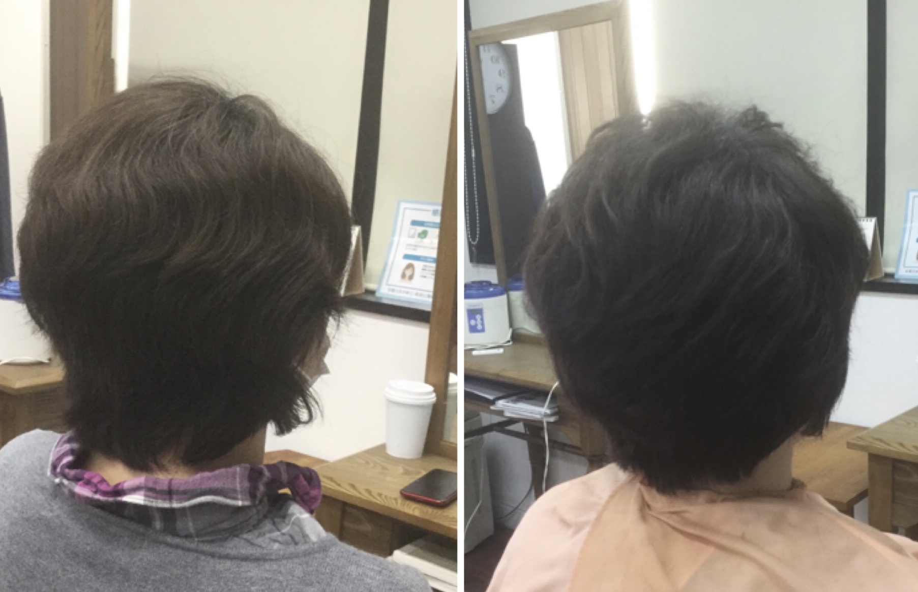 くせ毛でもキュビズムカット®︎で脱縮毛矯正が出来る神戸摂津本山美容室アバディ